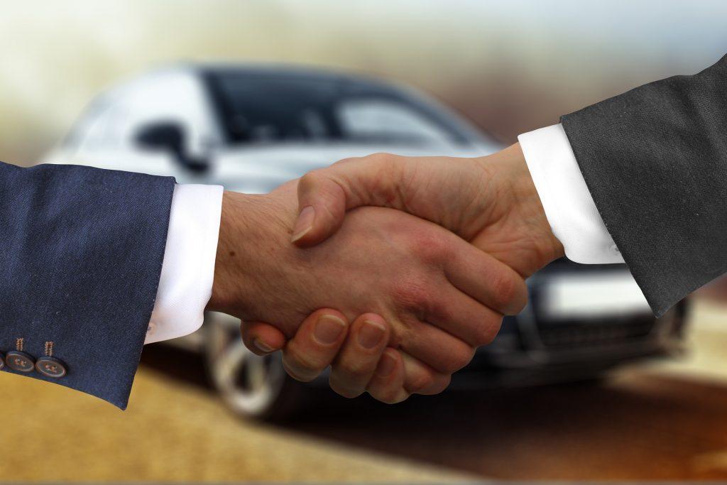 Verkopen tweedehands auto